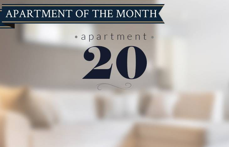 Apartment 20 is New Court's Apartment of the Month