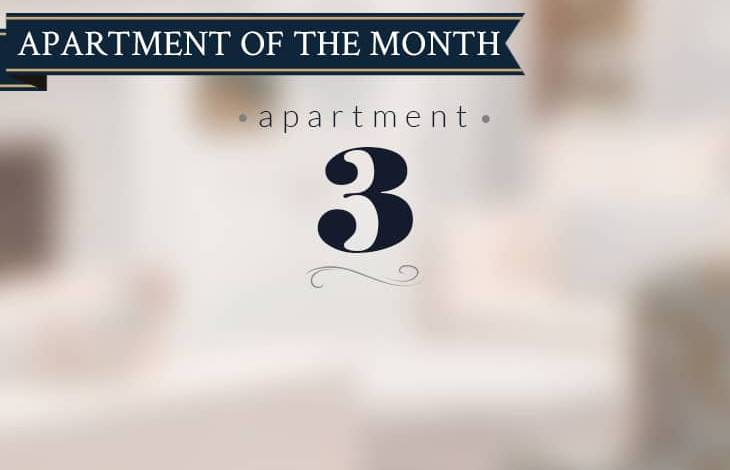 Apartment 3 is New Court's apartment of the month