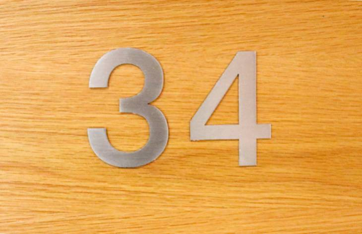 New Court Apartment 34 Door Numbers